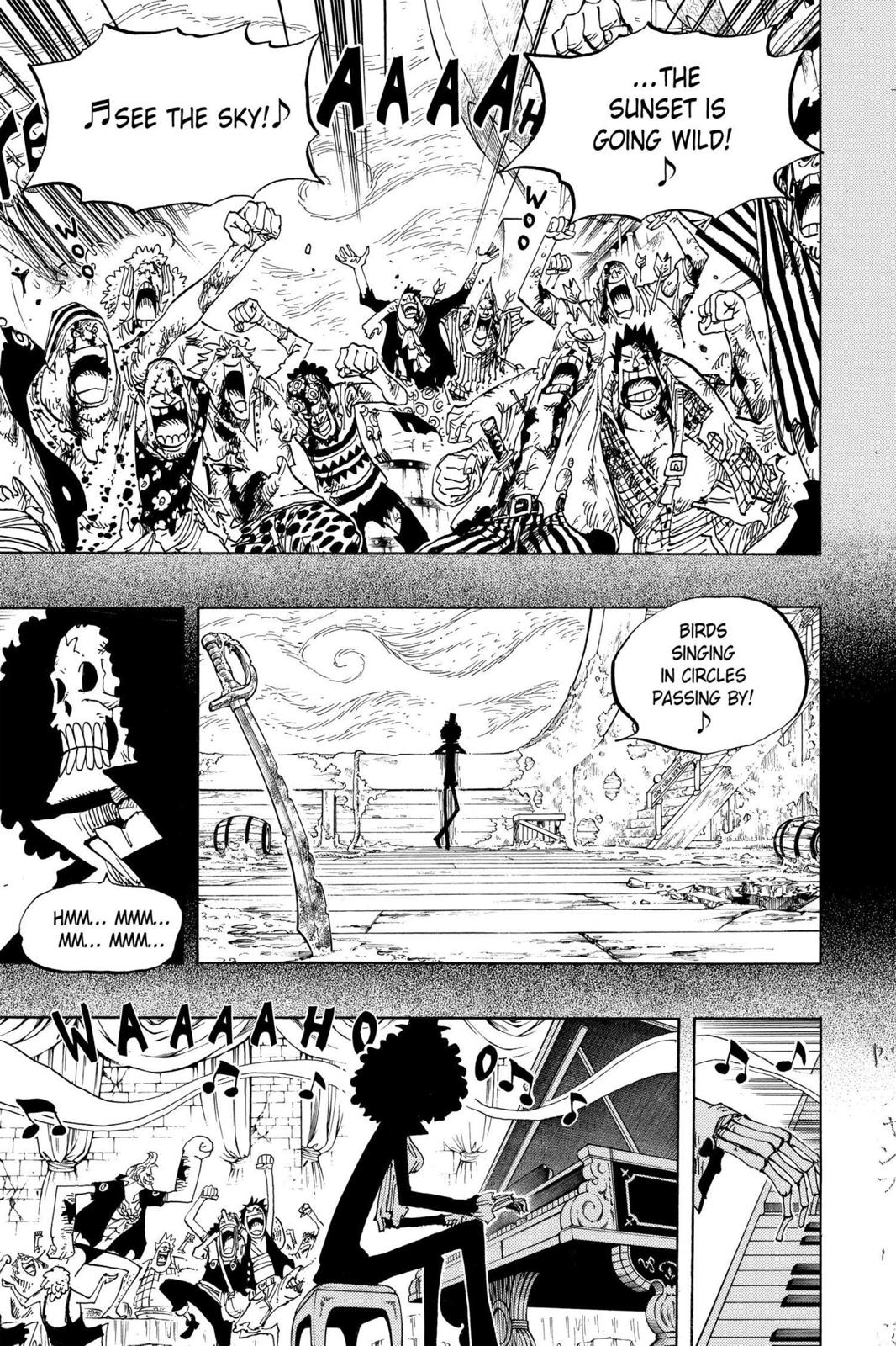 One Piece, Chapter 488 image 013