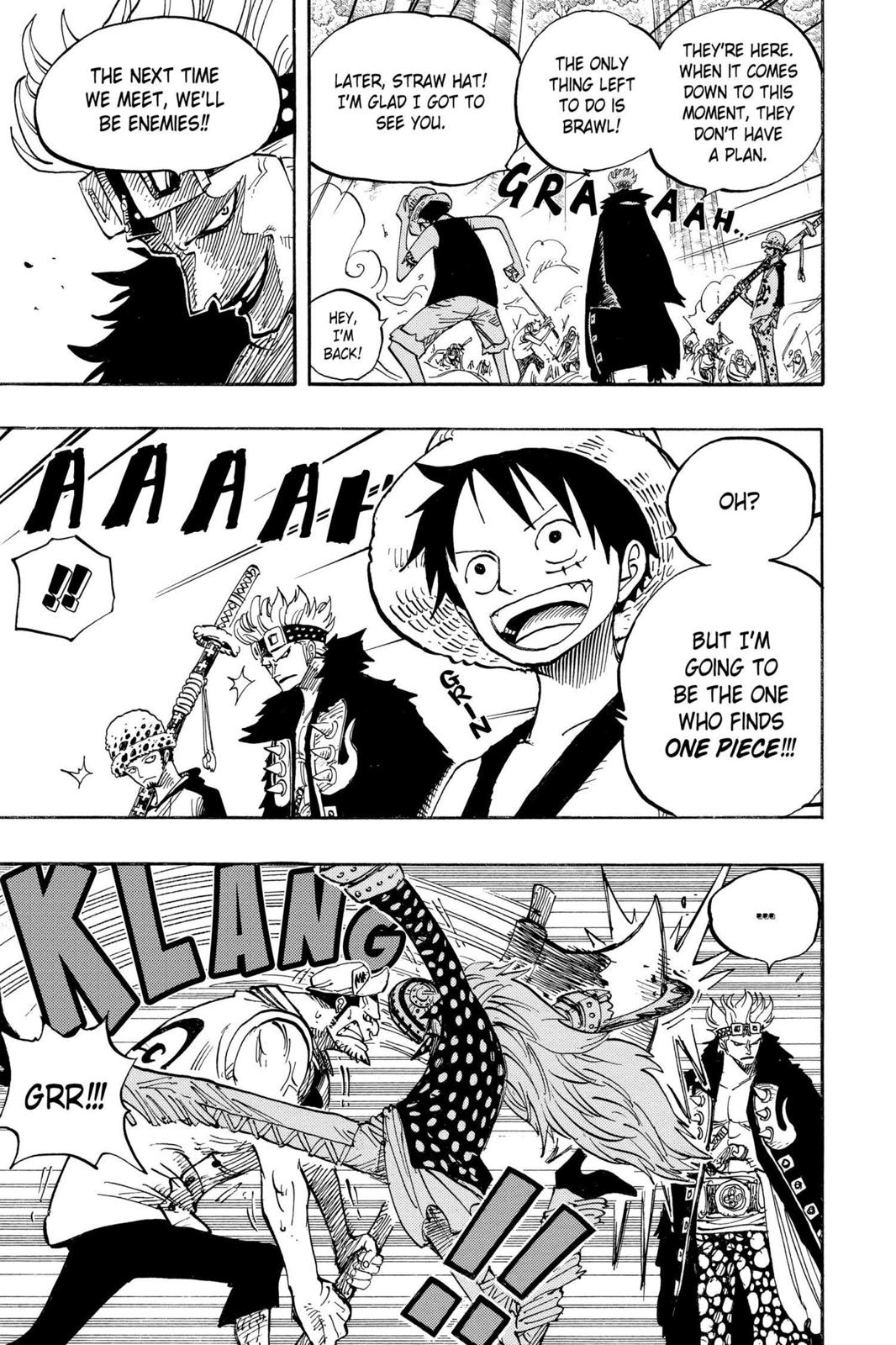 One Piece, Chapter 505 image 010
