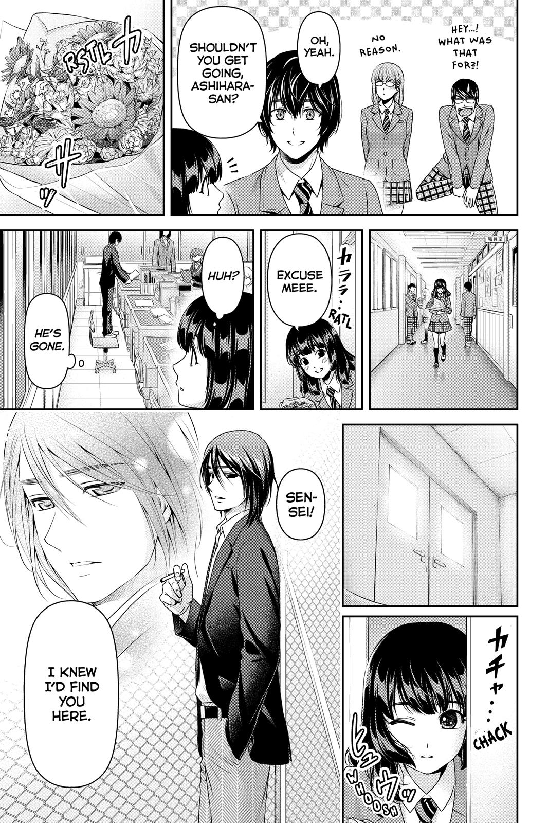 Domestic Na Kanojo, Chapter 137 image 005