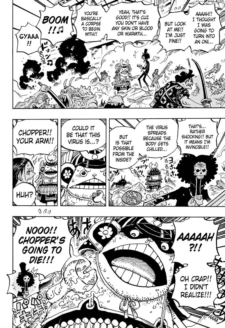 One Piece, Chapter 995 image 011