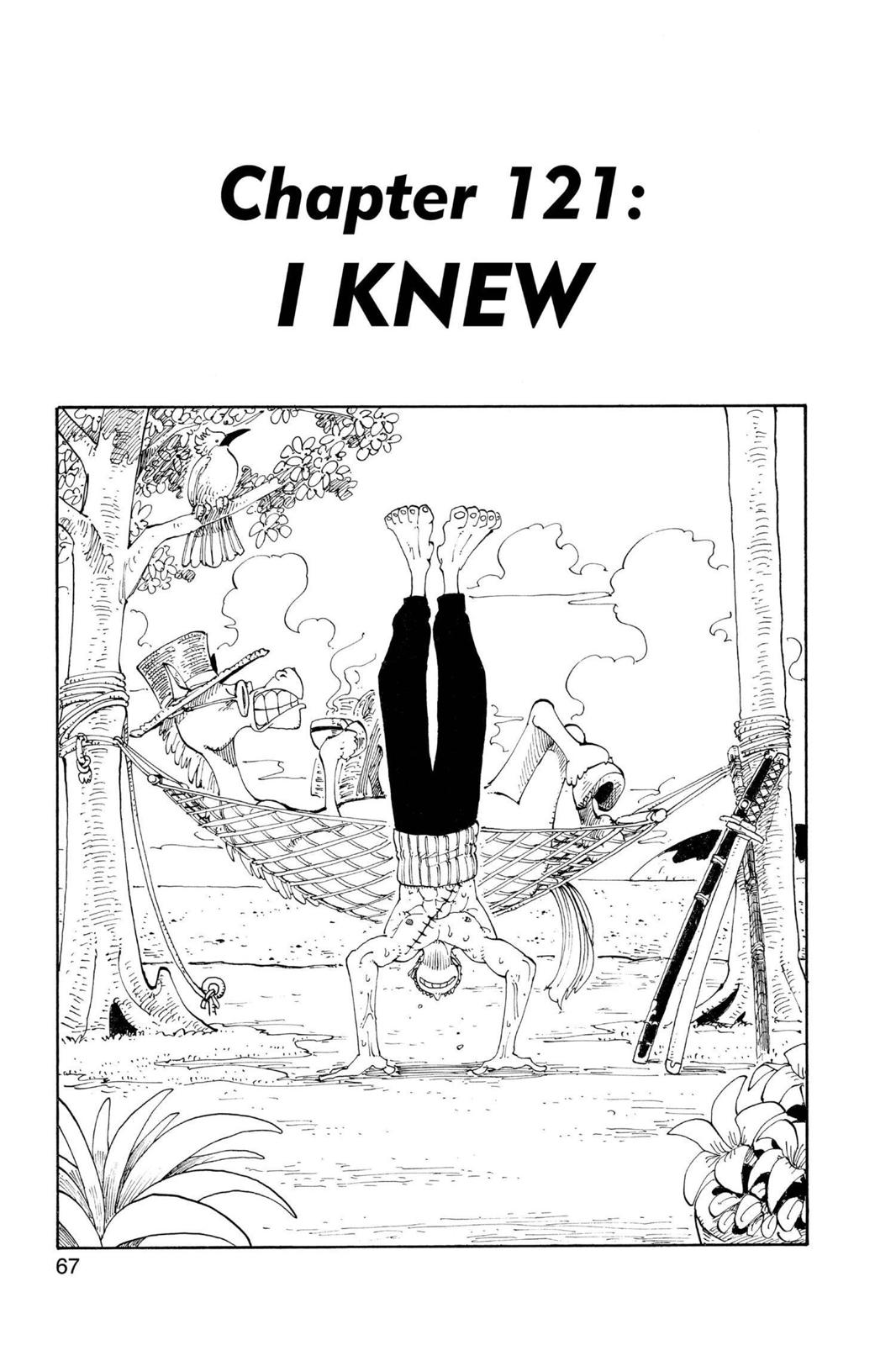 One Piece, Chapter 121 image 001