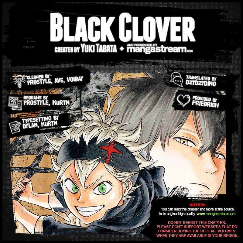 Black Clover, Chapter 97 Nothing image 002
