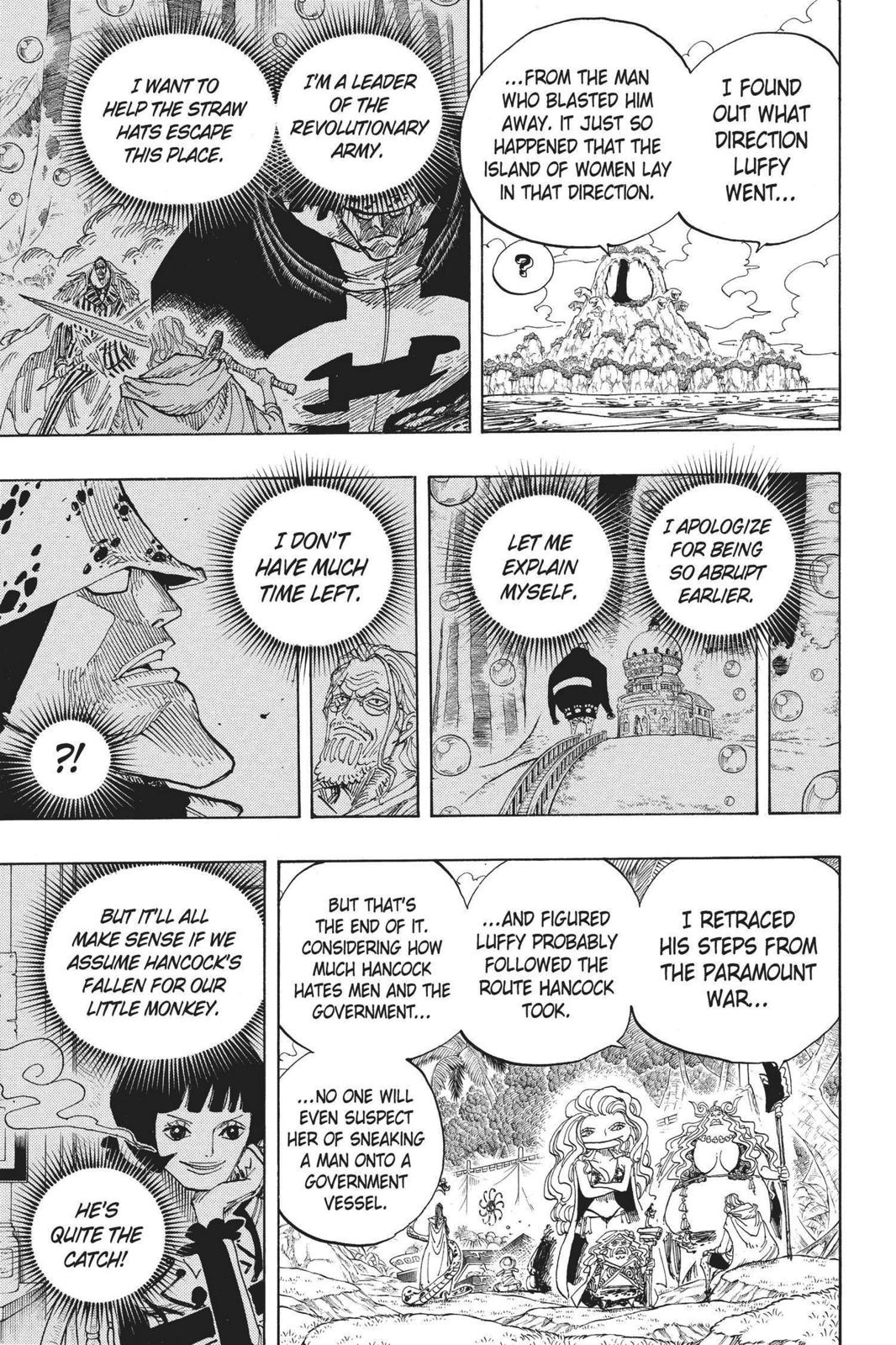 One Piece, Chapter 591 image 009
