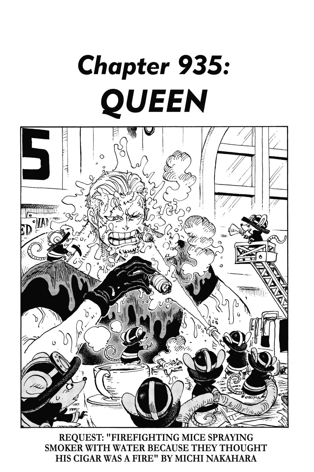 One Piece, Chapter 935 image 001