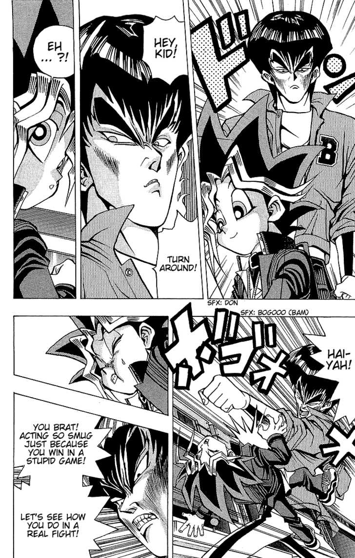Yu Gi Oh, Chapter Vol.04 Ch.025 - The One-Inch Terror image 015