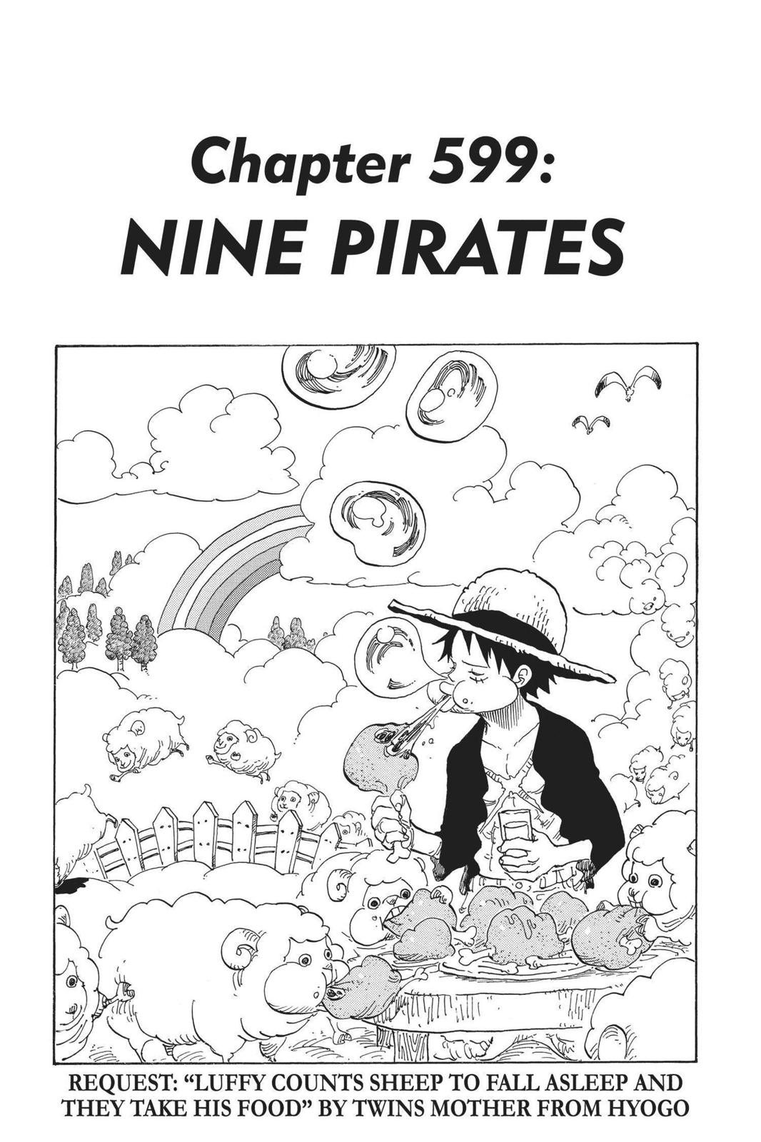 One Piece, Chapter 599 image 001