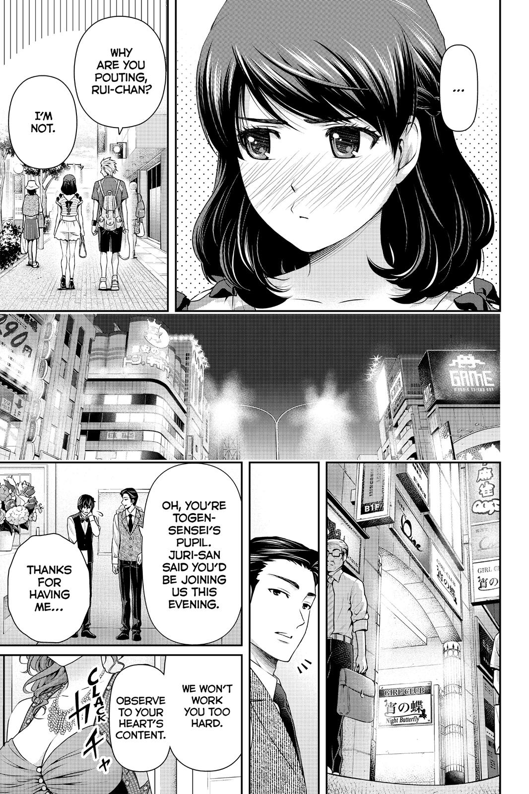 Domestic Na Kanojo, Chapter 100 image 015