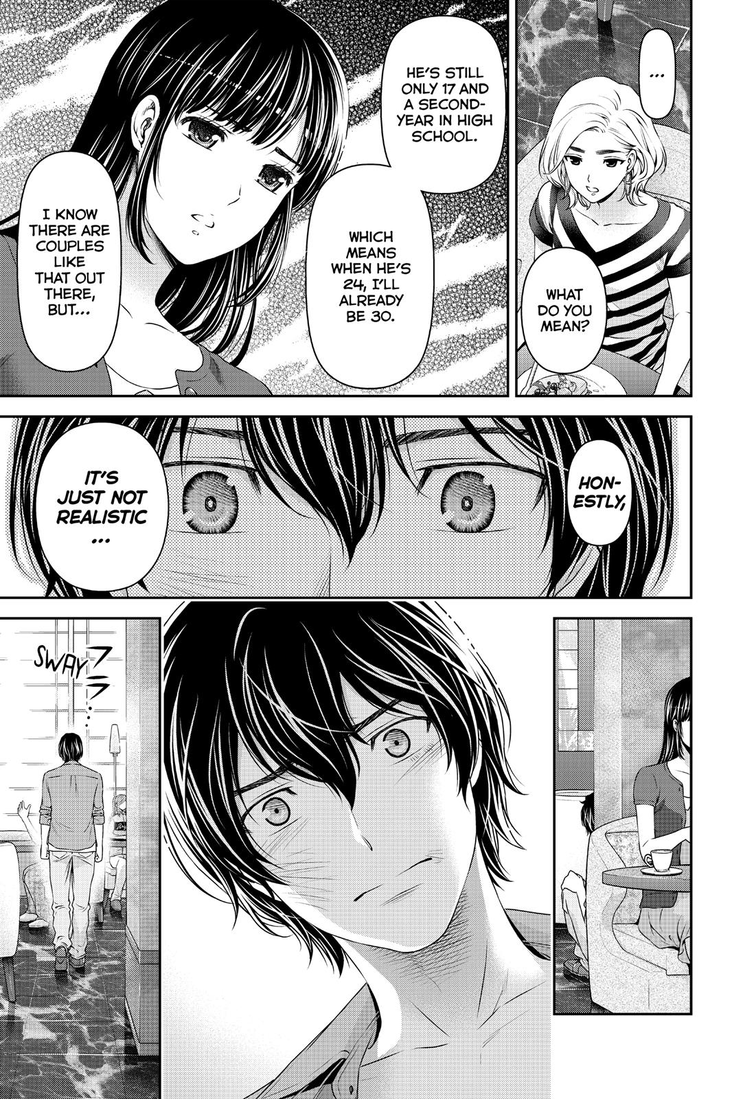 Domestic Na Kanojo, Chapter 53 image 015