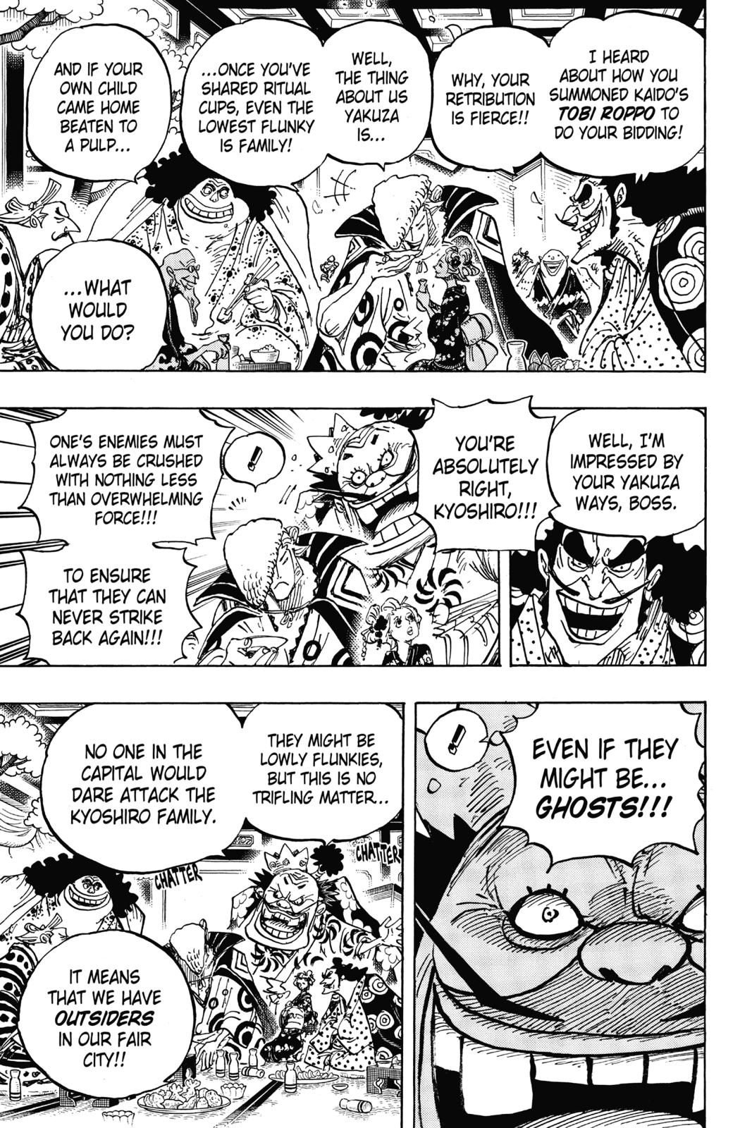 One Piece, Chapter 932 image 015