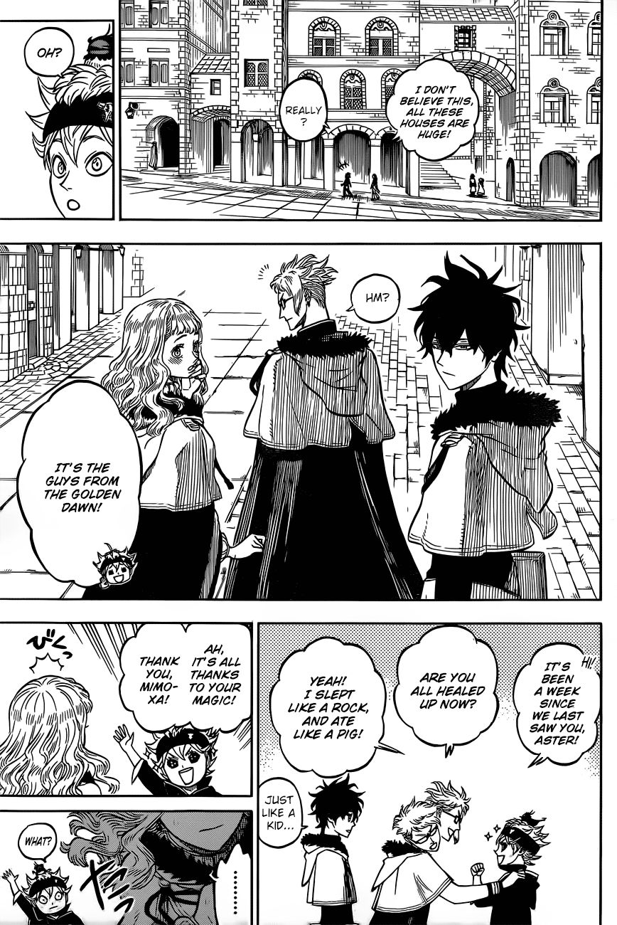 Black Clover, Chapter 22 Gathering At The Kings Palace image 005