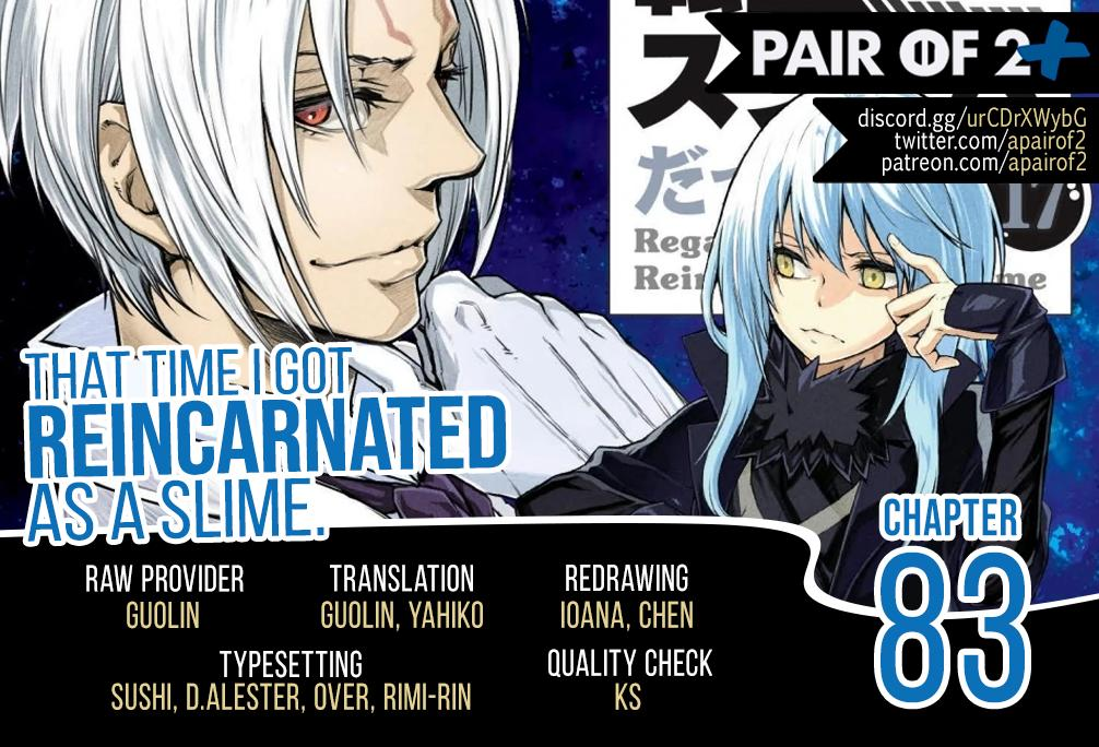 That Time I Got Reincarnated As A Slime, Chapter 83 image 002