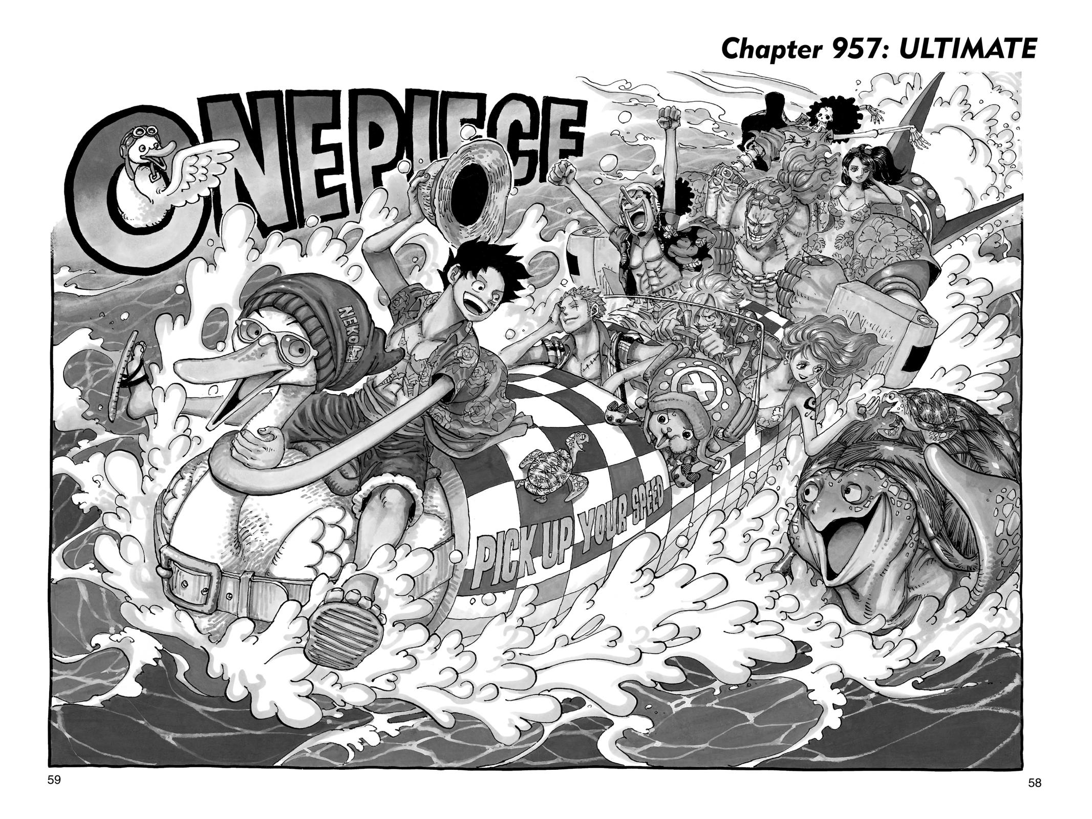 One Piece, Chapter 957 image 001