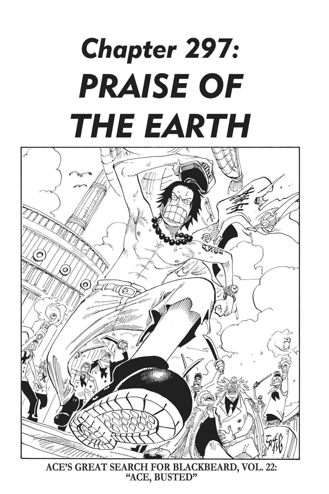 One Piece, Chapter 297 image 001