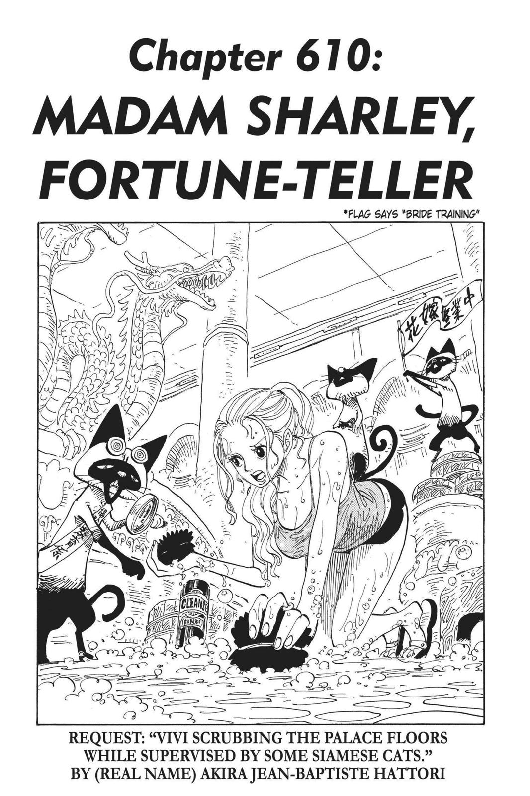 One Piece, Chapter 610 image 001