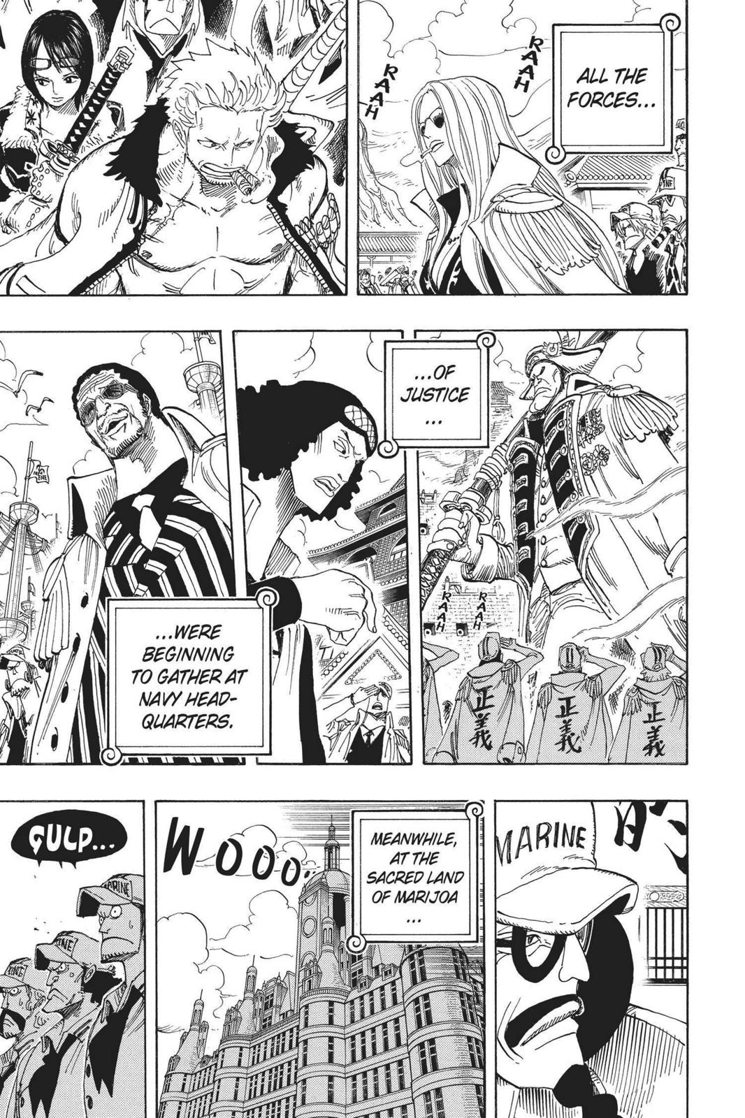 One Piece, Chapter 524 image 017