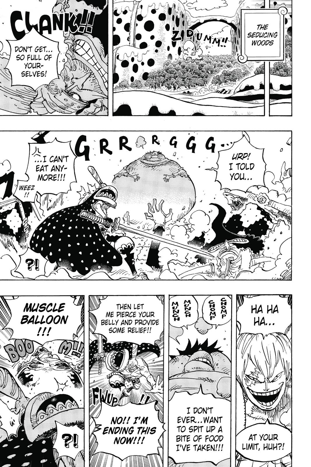 One Piece, Chapter 842 image 010