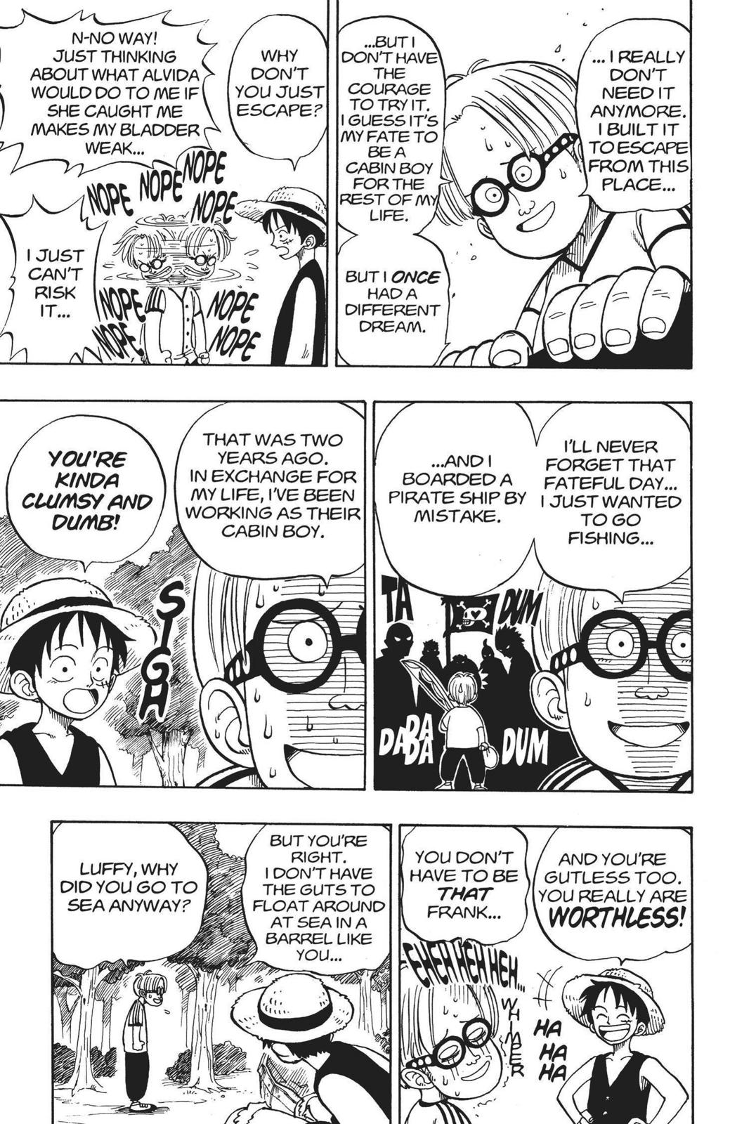 One Piece, Chapter 2 image 013