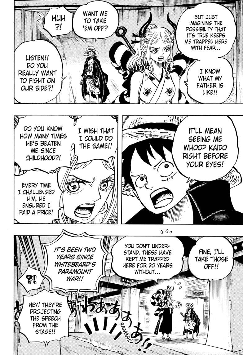 One Piece, Chapter 985 image 009