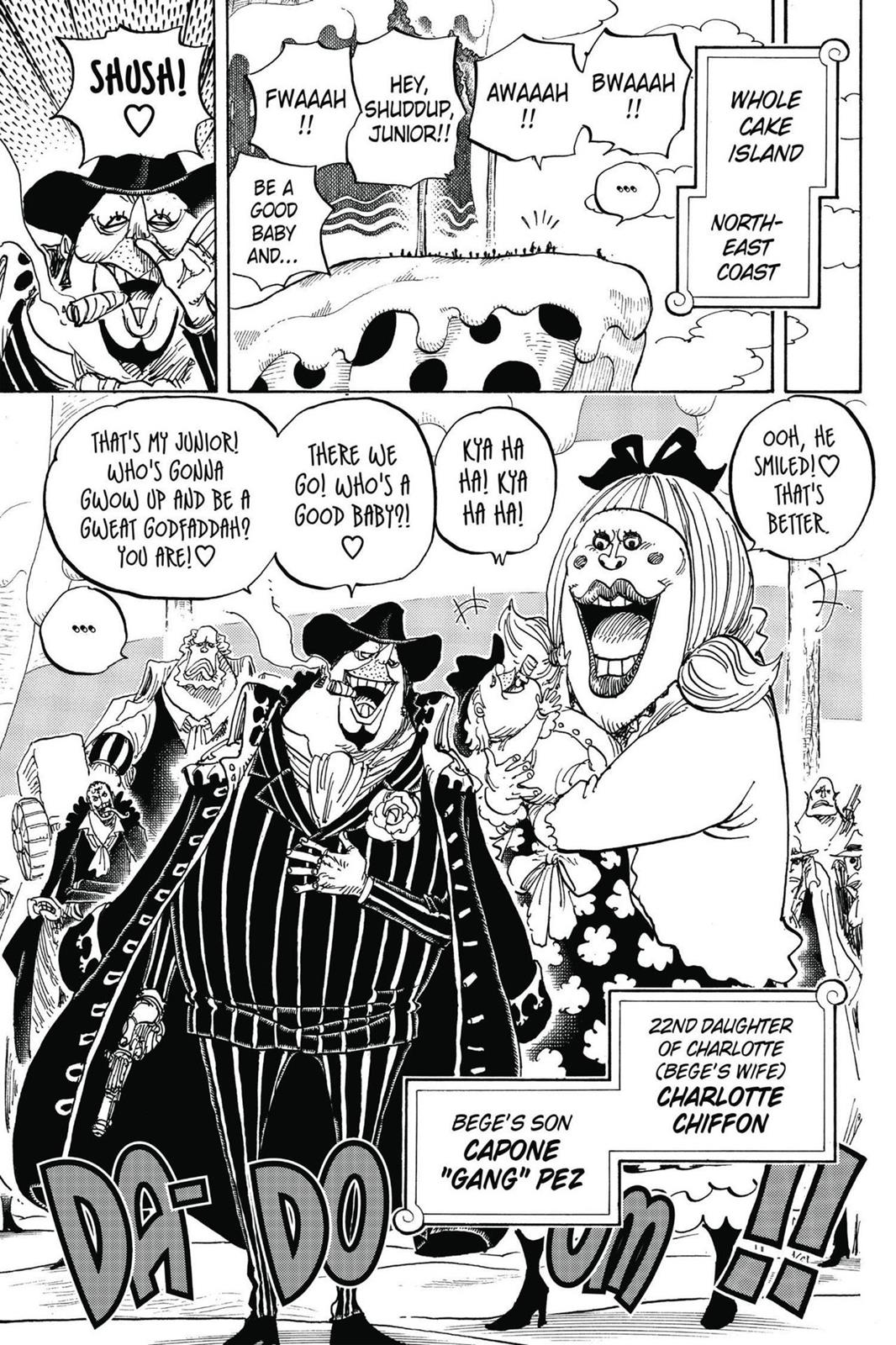 One Piece, Chapter 834 image 009