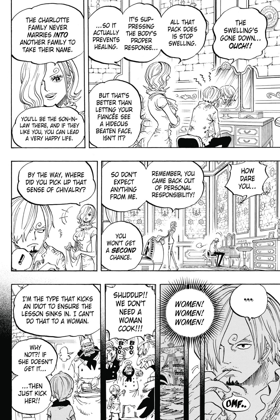 One Piece, Chapter 842 image 007