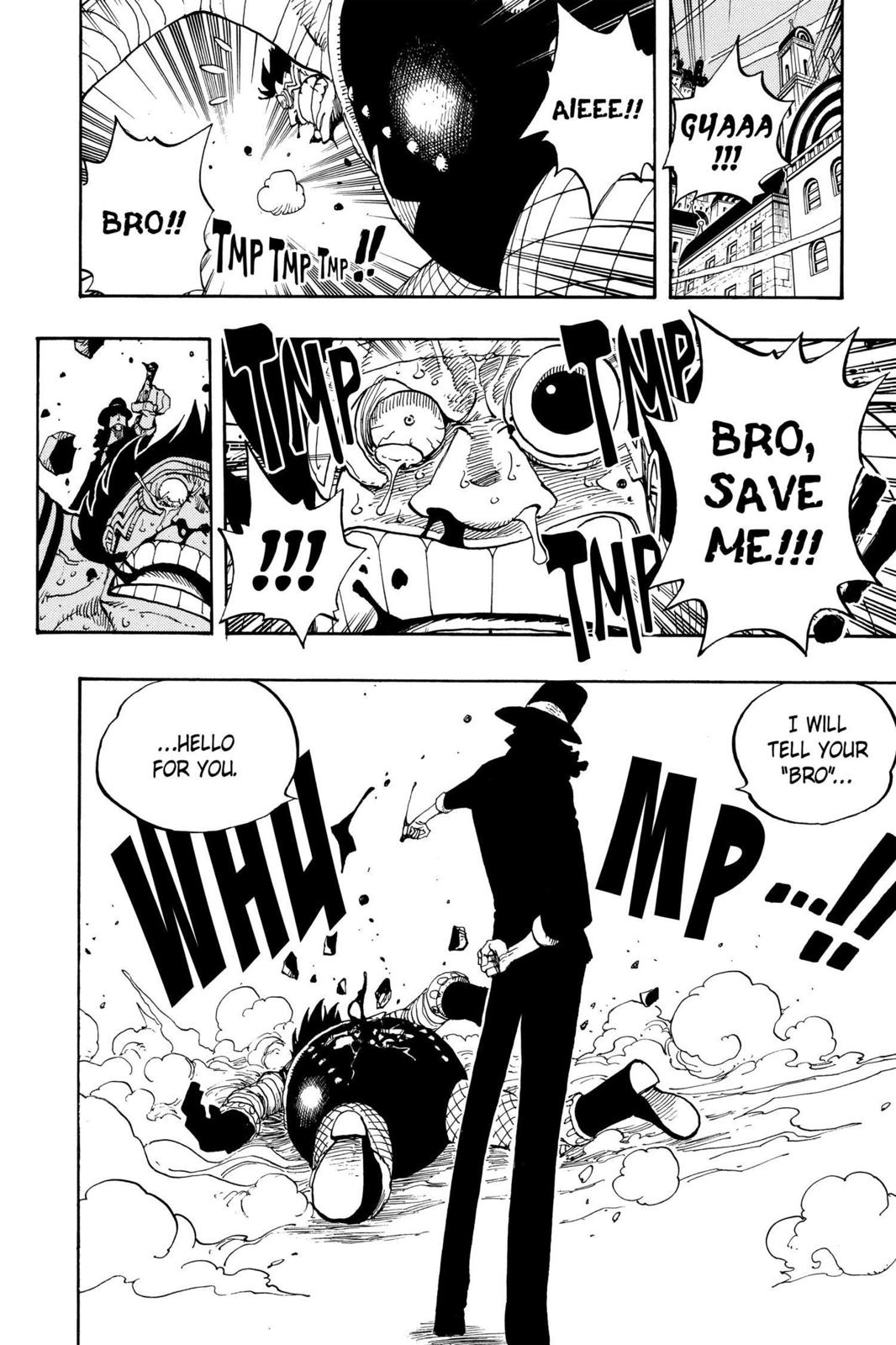 One Piece, Chapter 350 image 016