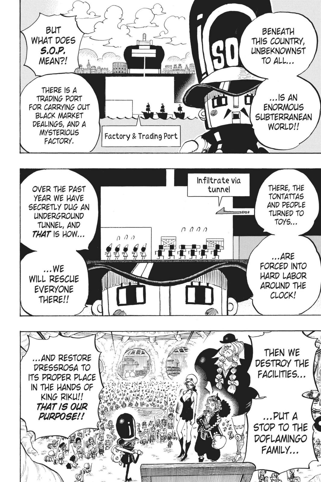 One Piece, Chapter 731 image 006
