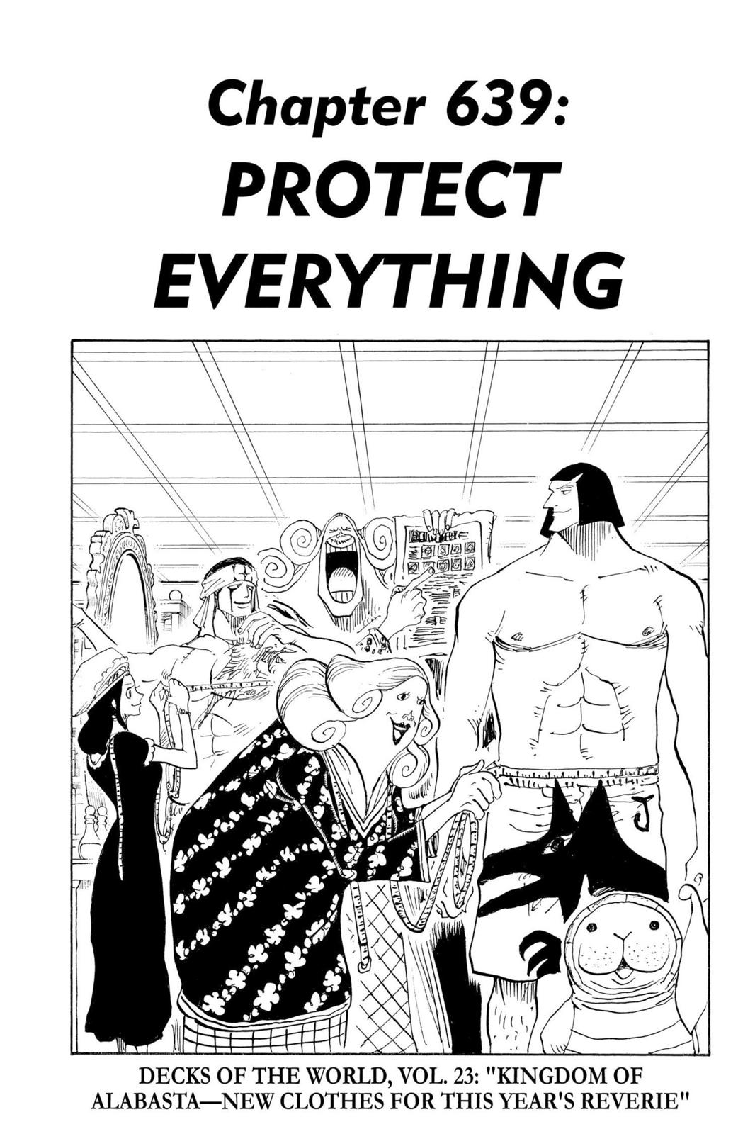 One Piece, Chapter 639 image 001