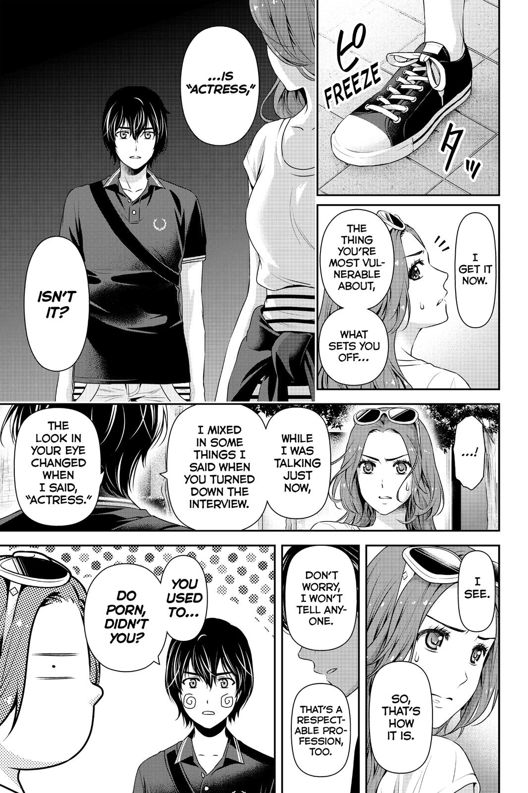 Domestic Na Kanojo, Chapter 102 image 003