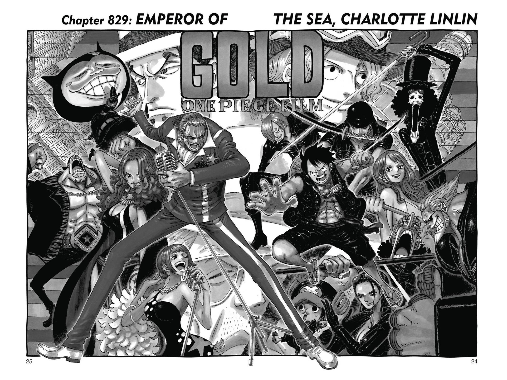 One Piece, Chapter 829 image 001
