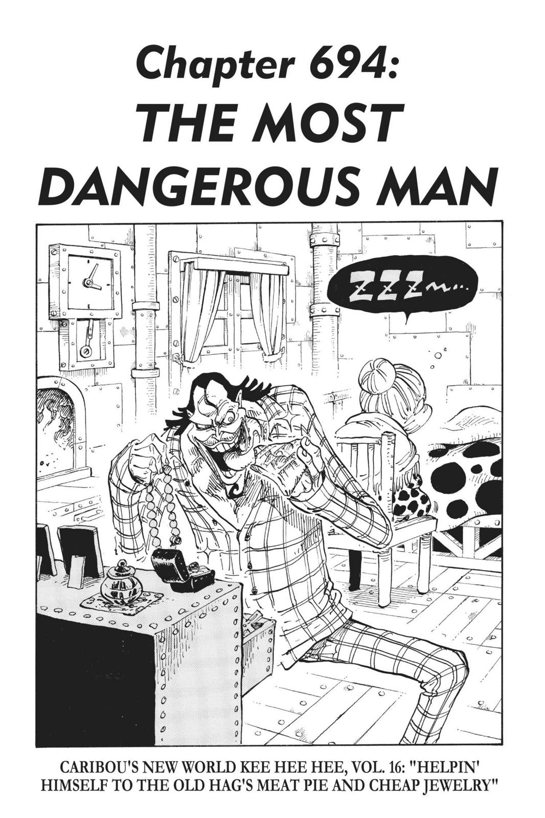One Piece, Chapter 694 image 001