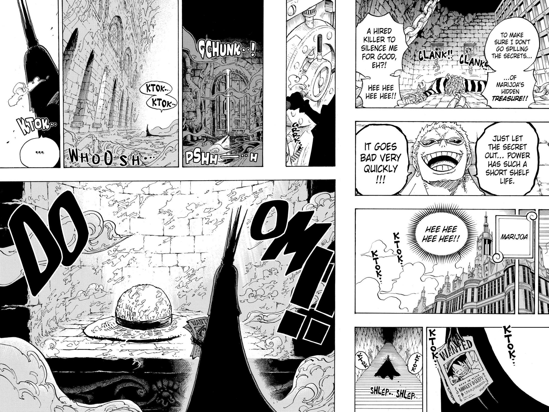 One Piece, Chapter 906 image 016