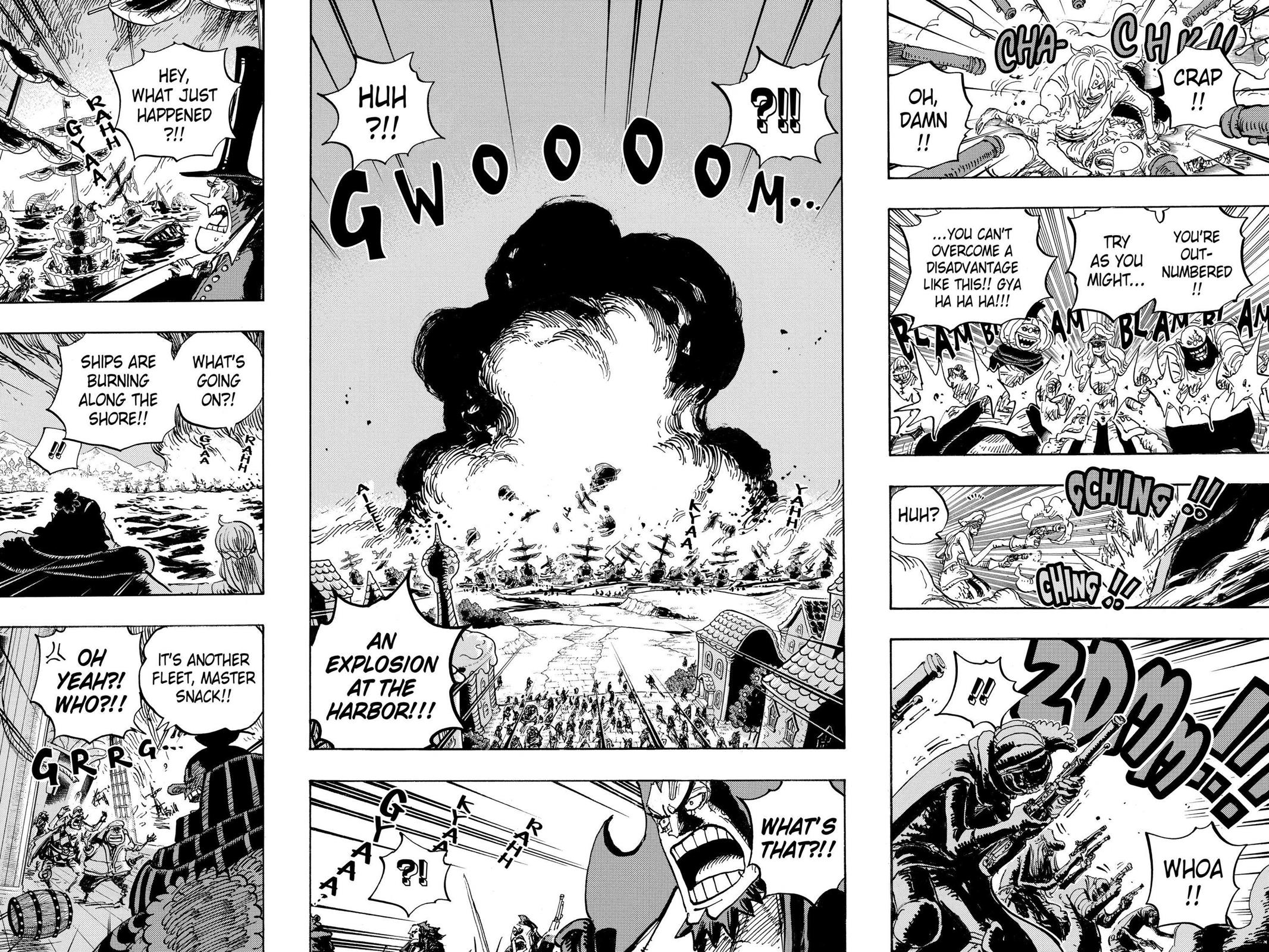 One Piece, Chapter 897 image 013
