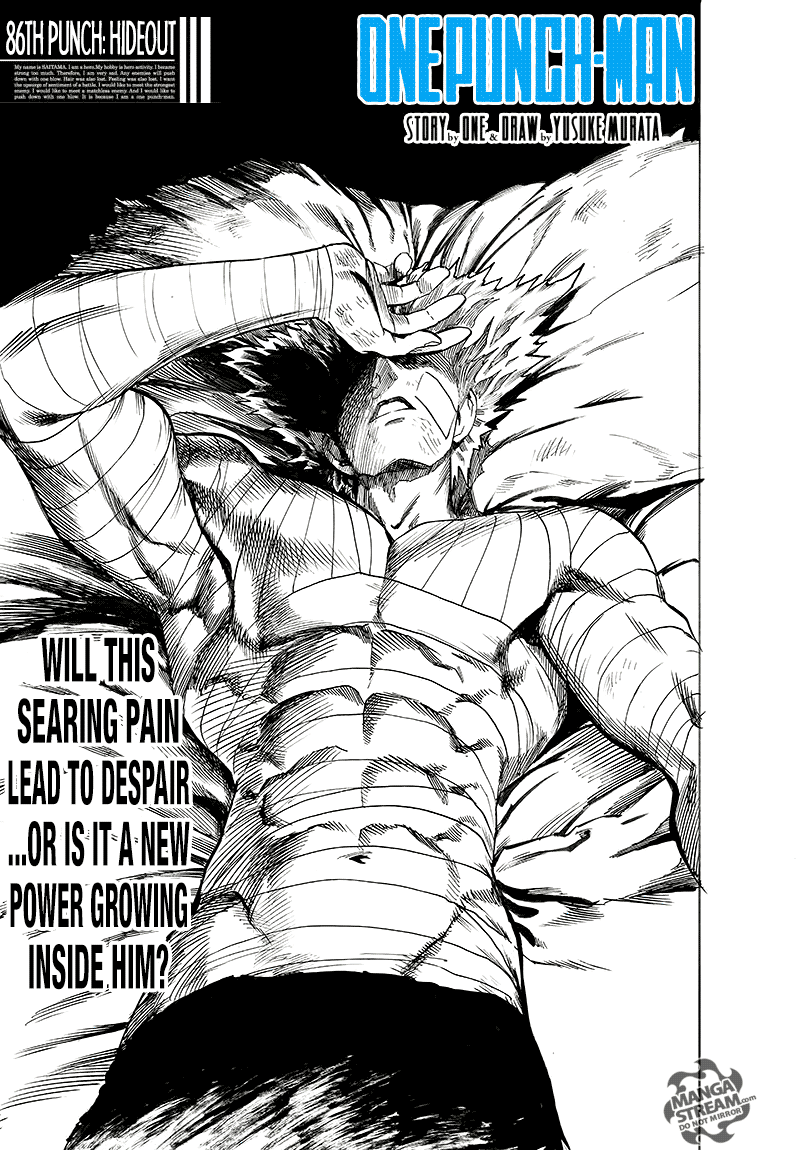 One Punch Man, Chapter Onepunch-Man 86 image 001