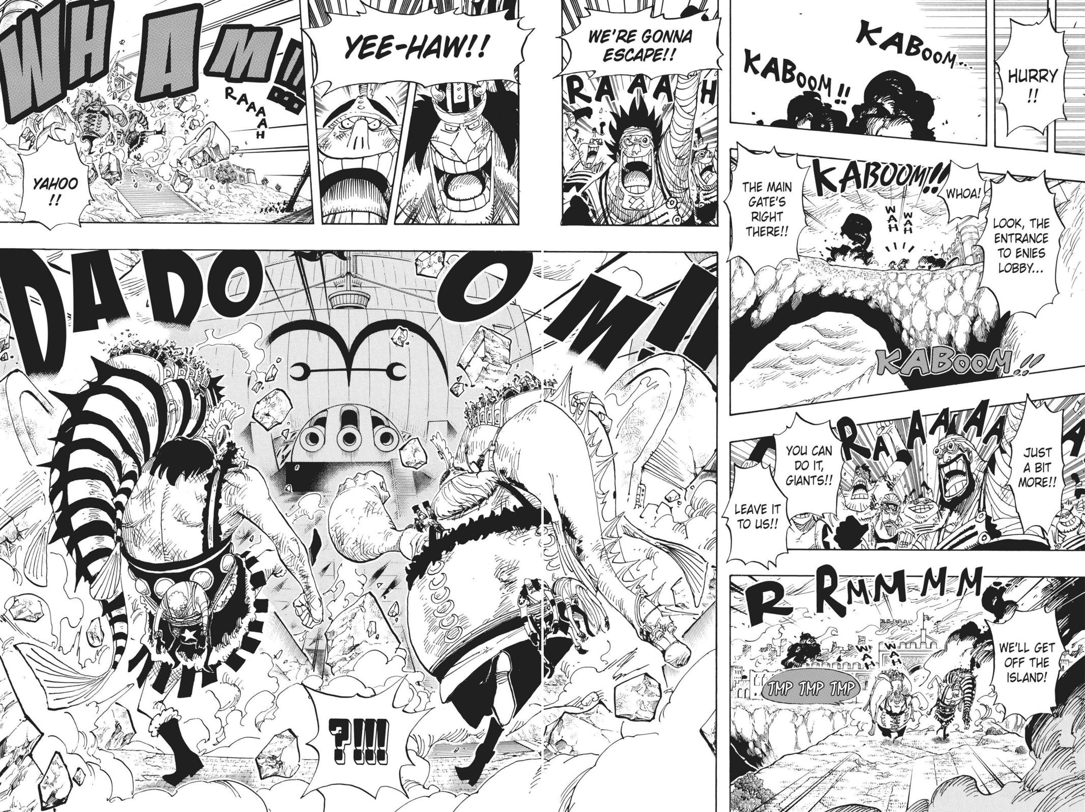 One Piece, Chapter 424 image 004