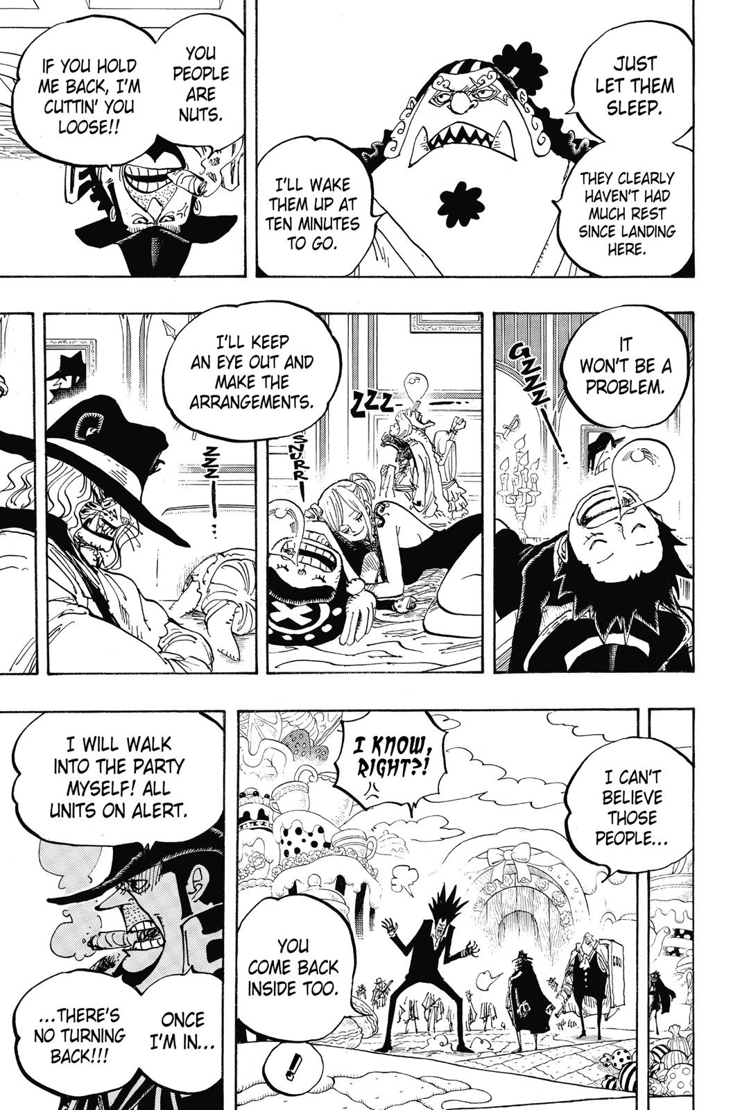 One Piece, Chapter 861 image 011
