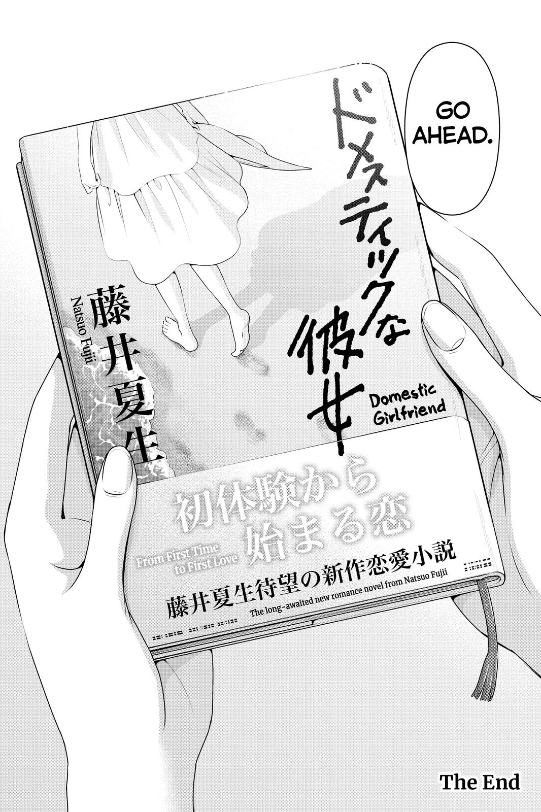 Domestic Na Kanojo, Chapter 276 image 028
