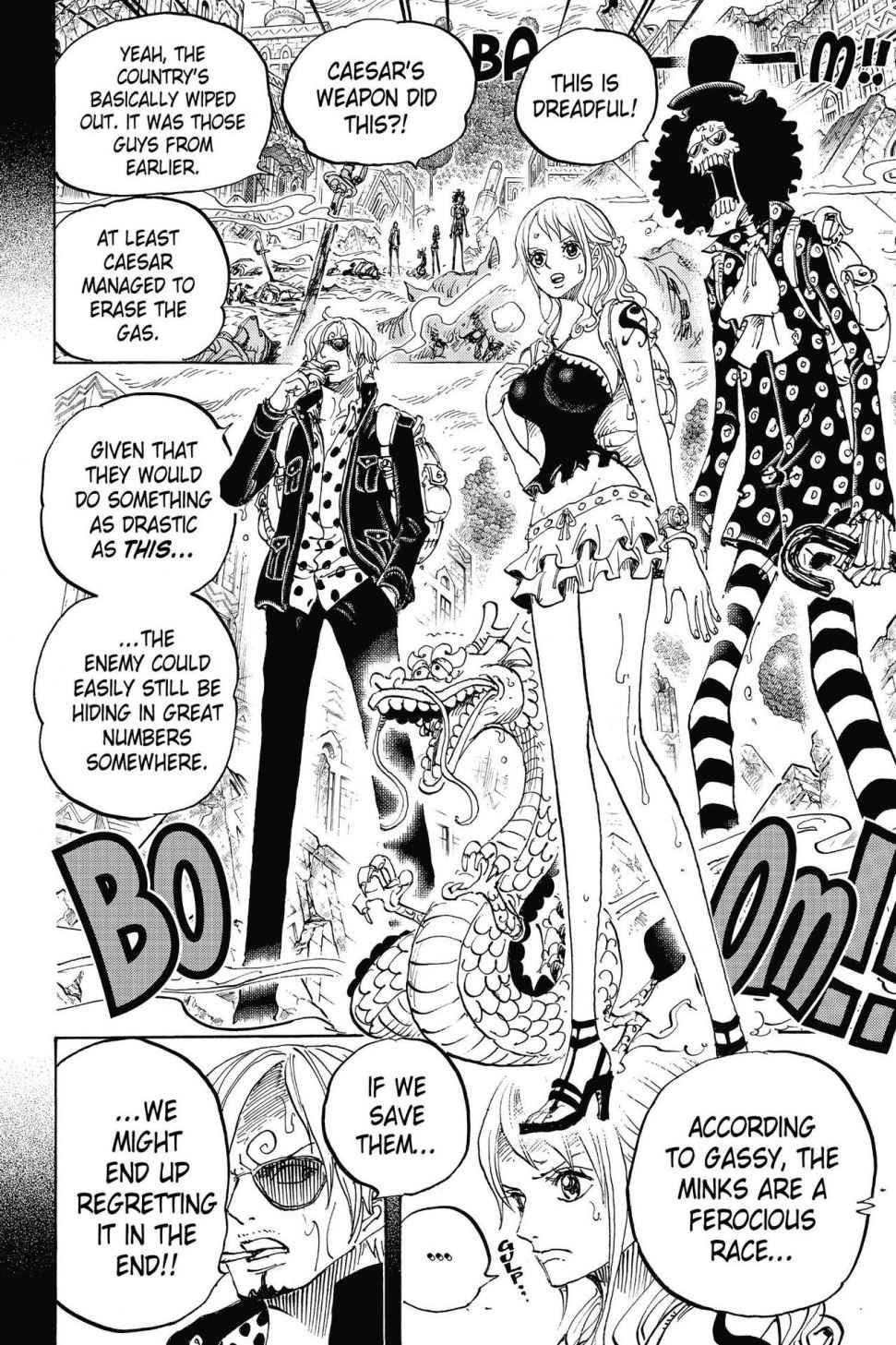 One Piece, Chapter 811 image 008