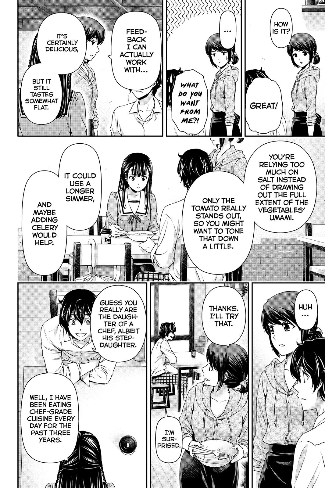 Domestic Na Kanojo, Chapter 89 image 016