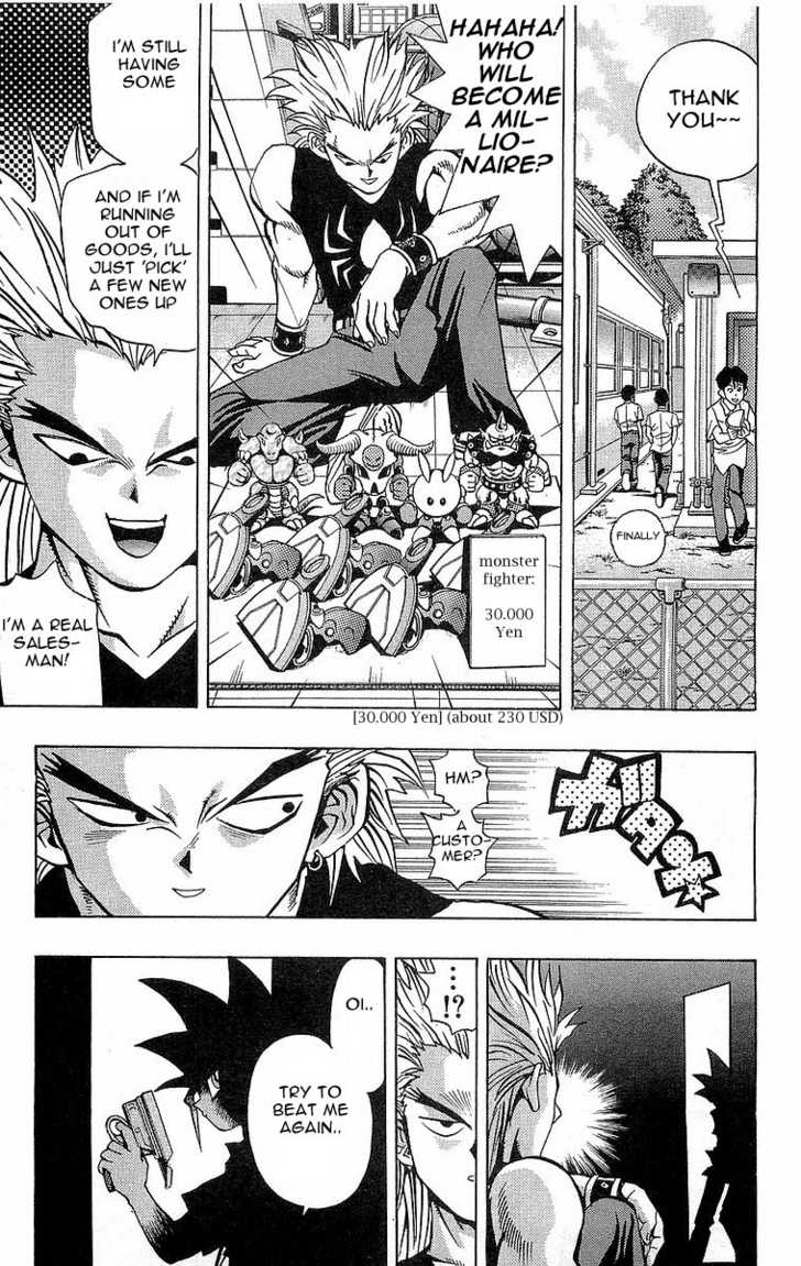 Yu Gi Oh, Chapter Vol.06 Ch.043 - Monster Fighter Part 1 image 016