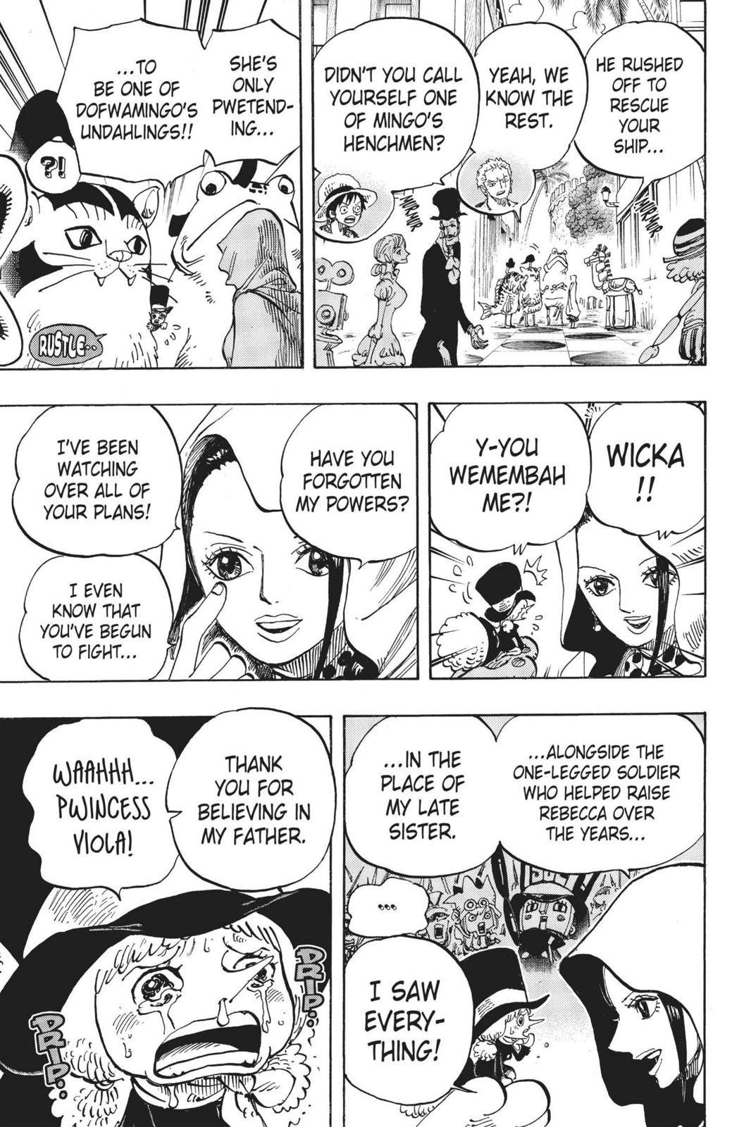 One Piece, Chapter 735 image 005
