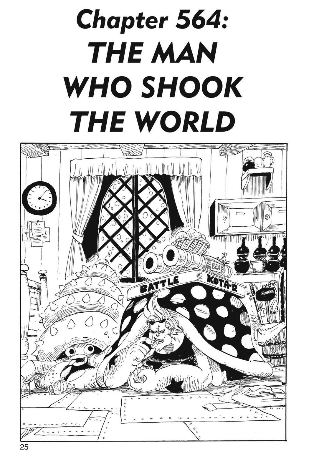 One Piece, Chapter 564 image 001