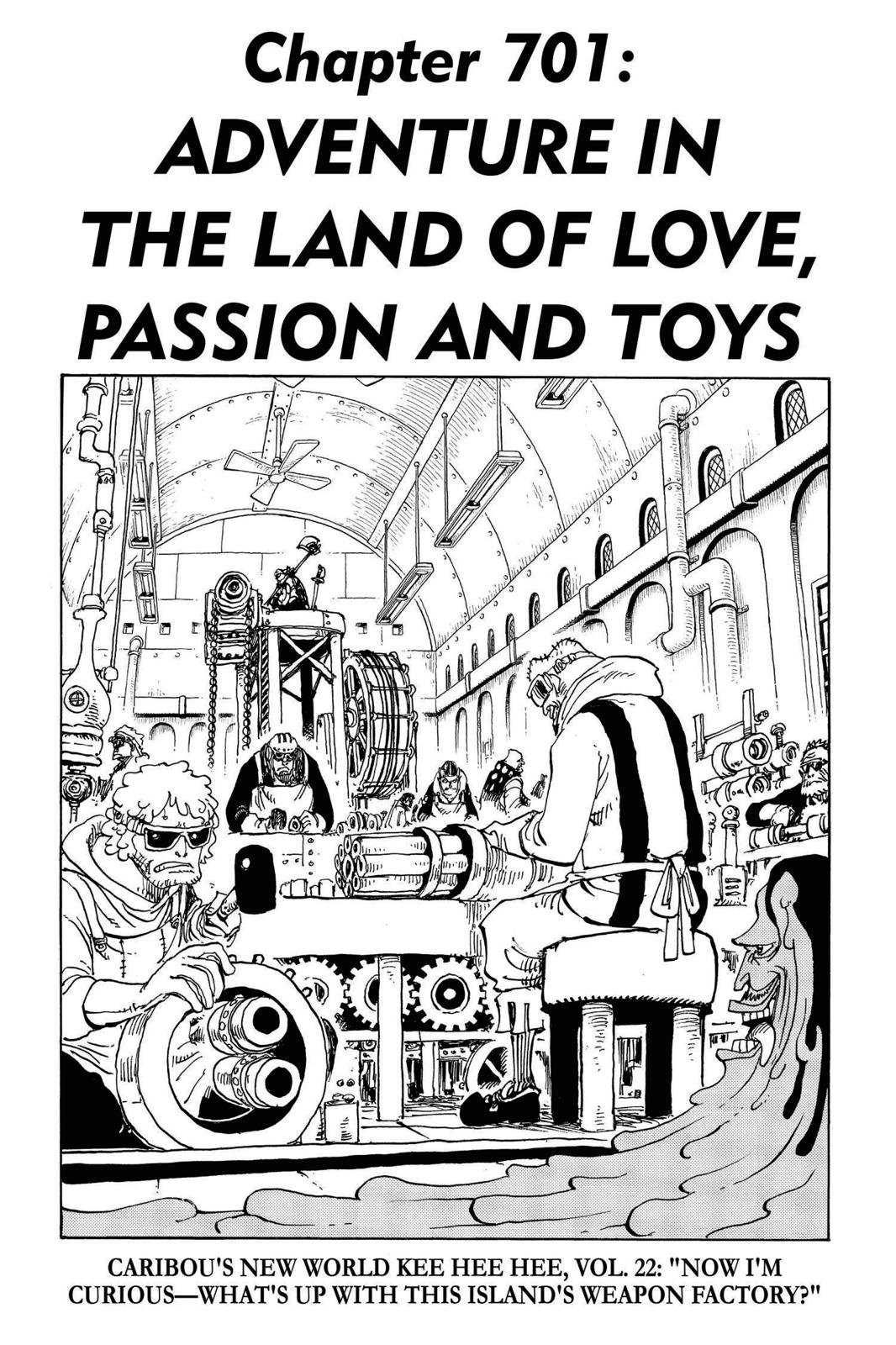 One Piece, Chapter 701 image 007