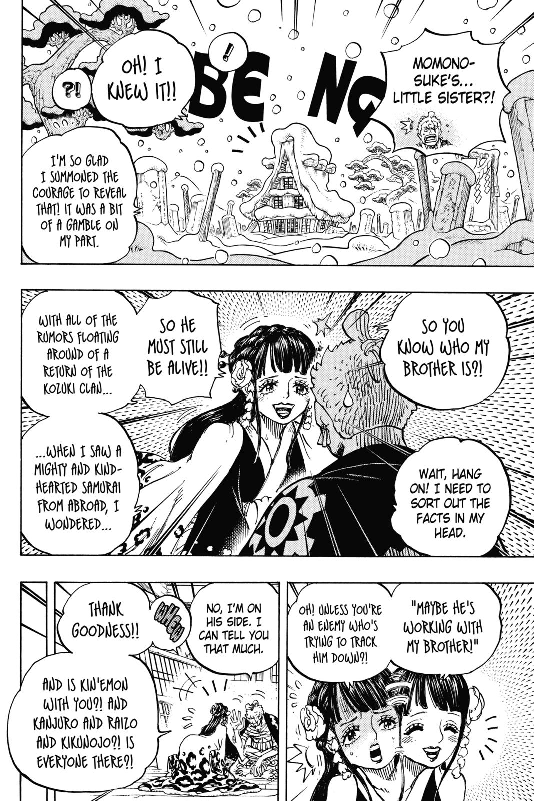 One Piece, Chapter 939 image 002