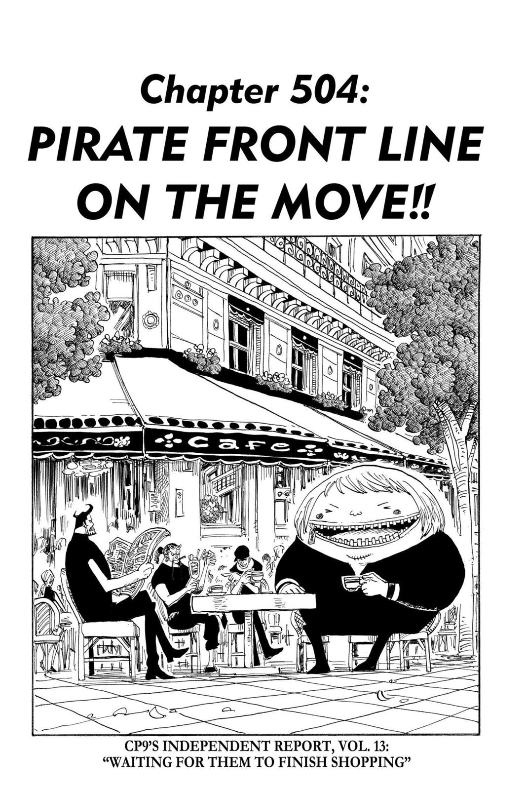 One Piece, Chapter 504 image 001