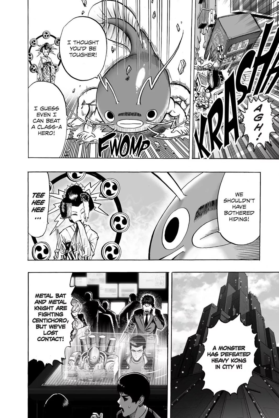 One Punch Man, Chapter Onepunch-Man 61 image 021