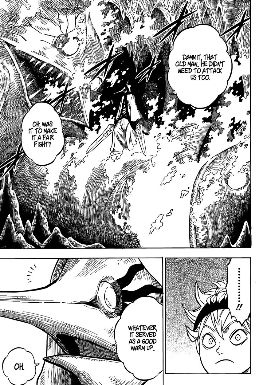 Black Clover, Chapter 61 Royal Rumble At The Water Temple image 014