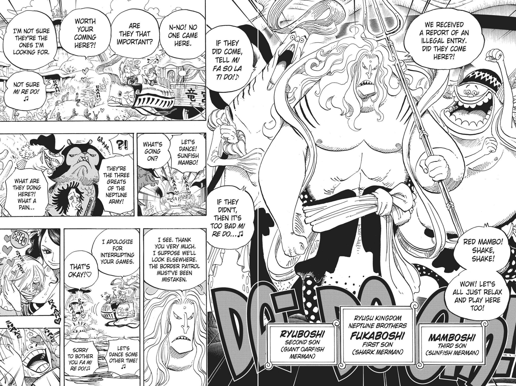 One Piece, Chapter 609 image 007