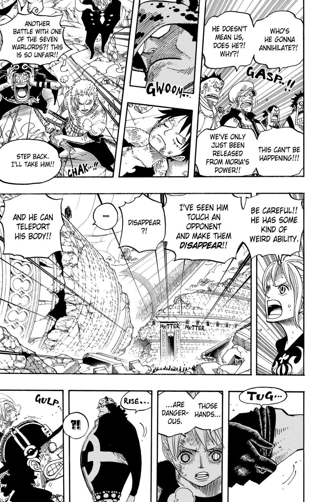 One Piece, Chapter 483 image 017