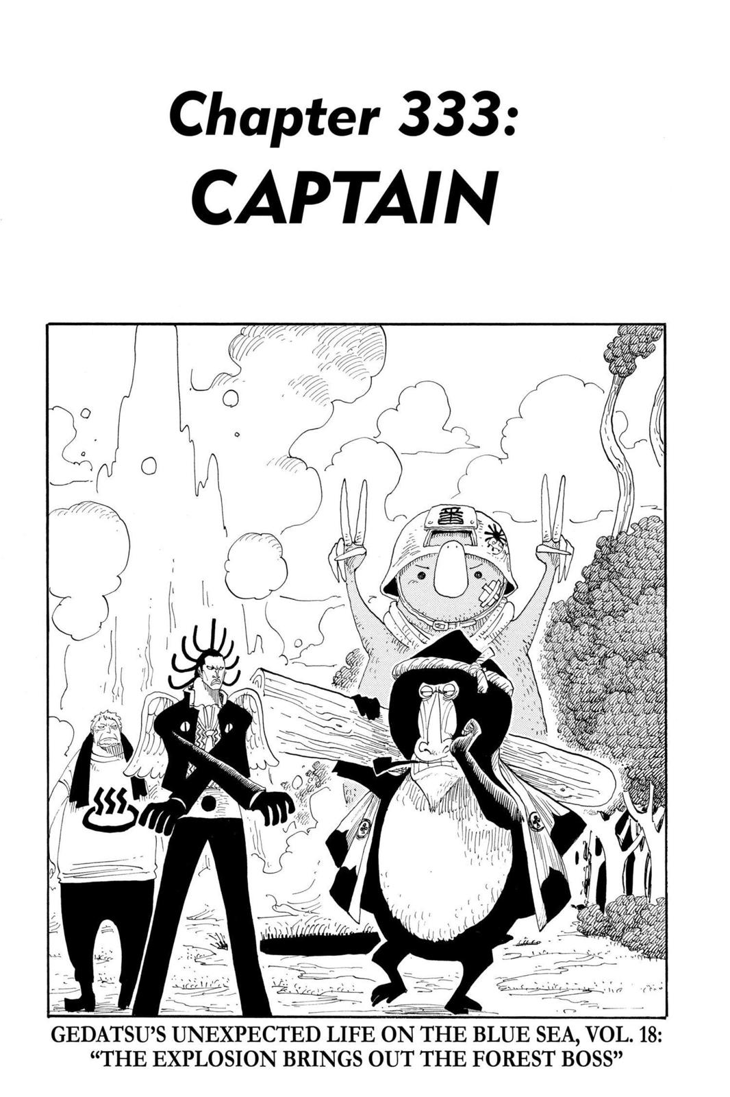 One Piece, Chapter 333 image 001