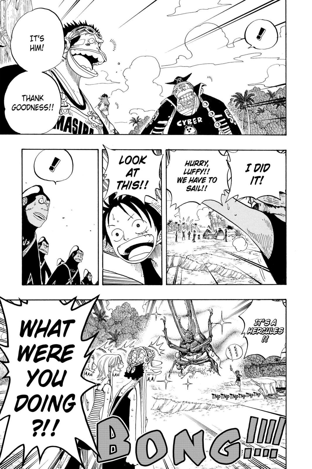 One Piece, Chapter 235 image 003
